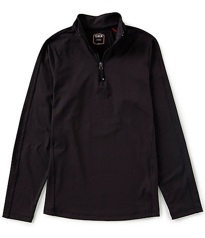 Cremieux Performance Quarter-Zip Fleece Pullover