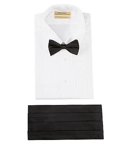 Cremieux Silk Bow Tie and Cumberbund Set