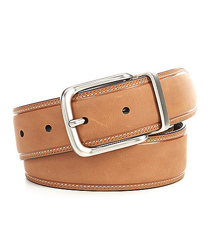 Cremieux Snuggle Reversible Leather Belt