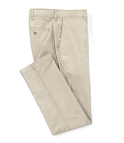 Cremieux Soho Slim-Fit Flat-Front Twill Comfort Stretch Casual Pants