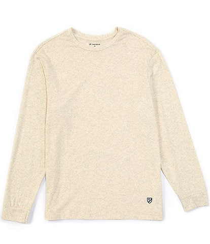 Cremieux Solid Crew Long-Sleeve Tee