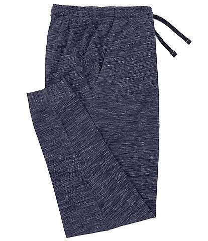 Cremieux Solid Navy Knit Joggers