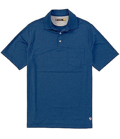 Cremieux Solid Performance Short-Sleeve Polo Shirt