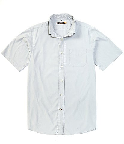 Cremieux Solid Performance Short-Sleeve Woven Shirt