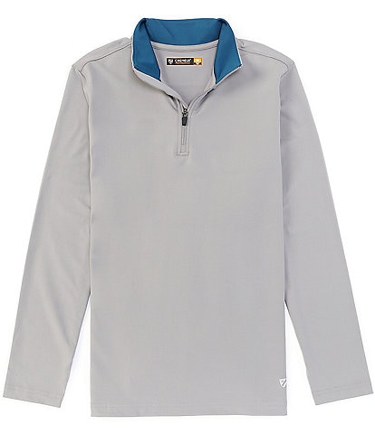 Cremieux Solid Performance Stretch Quarter-Zip Pullover