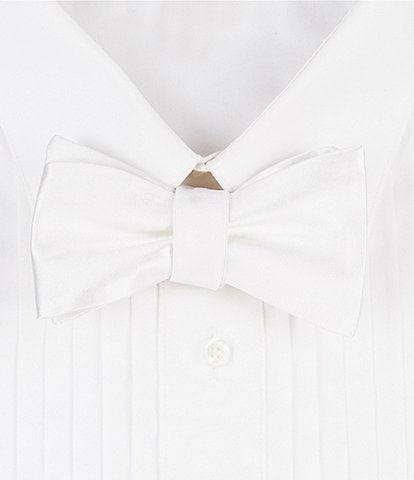 Cremieux Solid Silk Bow Tie