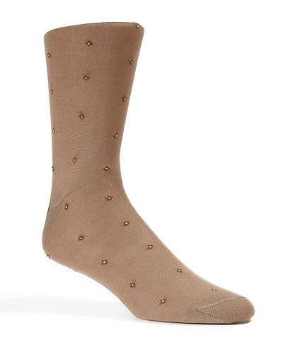 Cremieux Stars Casual Crew Dress Socks