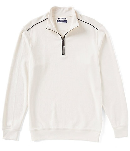 Cremieux Supima Cotton Quarter-Zip Pullover