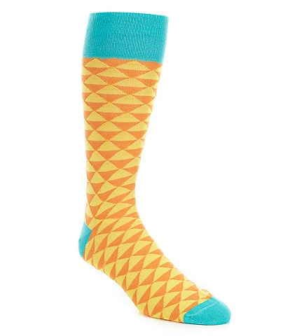 Cremieux Triangles Over-the-Calf Socks