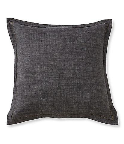 Cremieux Vintage Denim Square Pillow