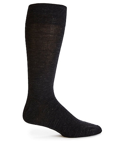 Cremieux Wool Coolmax Flat Knit Crew Socks