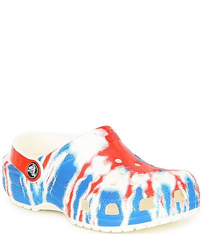 Crocs Kids' Classic Tie Dye Clogs (Youth)