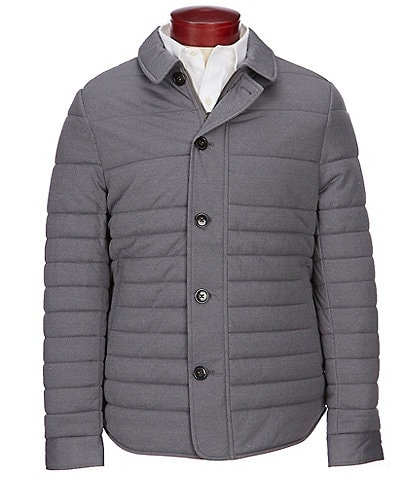 Crosby & Howard Quilted Stretch Nylon Jacket