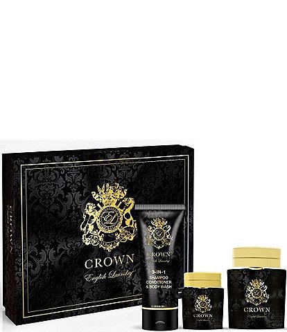Crown Eau de Parfum by English Laundry Gift Set