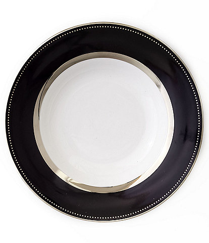 Darbie Angell Black Luxe Dinner Plate
