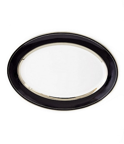 Darbie Angell Black Luxe Oval Platter