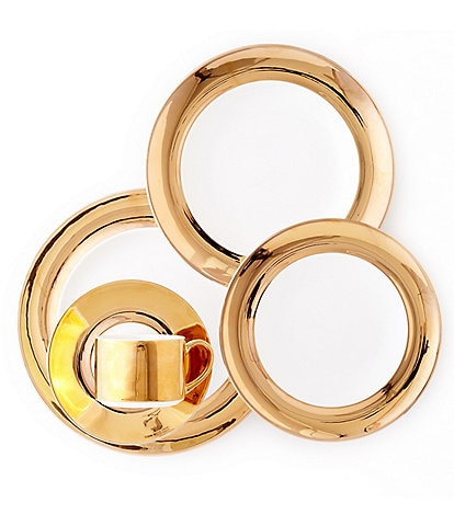 Darbie Angell Monaco 24KT Gold 5-Piece Place Setting