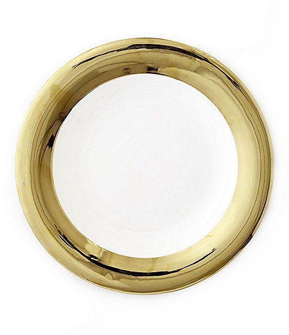 Darbie Angell Monaco 24KT Gold Dinner Plate
