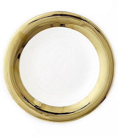 Darbie Angell Monaco 24KT Gold Round Platter