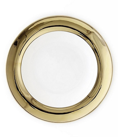 Darbie Angell Monaco 24KT Gold Salad Plate