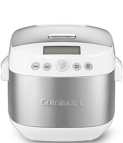 Cuisinart 10-Cup Stainless Steel Rice and Grain Multicooker