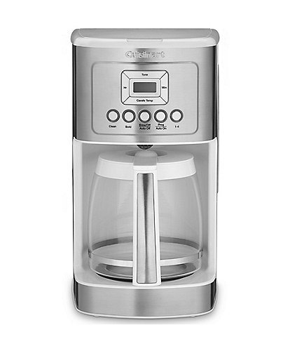 Cuisinart 14-Cup Programmable White Coffee Maker
