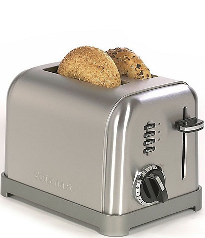 Cuisinart 2-Slice Brushed Stainless Metal Classic Toaster