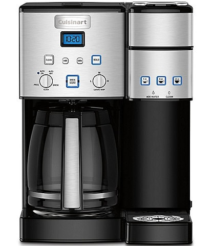 Cuisinart Coffee Center 12+-Cup Coffee Maker & Single-Serve Brewer