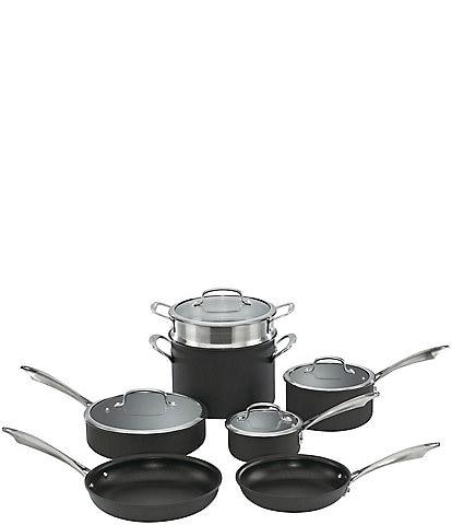 Cuisinart DS Anodized 11-Piece Cookware Set