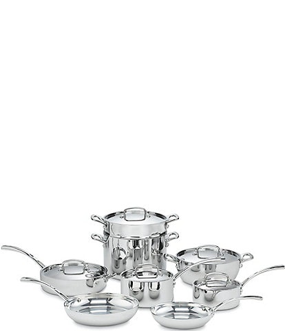 Cuisinart French Classic Tri-Ply Stainless Steel 13-Piece Cookware Set