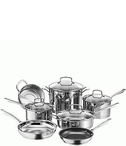 Cuisinart Professional Stainless 11-Piece Cookware Set