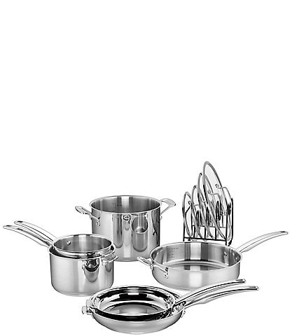 Cuisinart Smart Nest Stainless 11-Piece Cookware Set