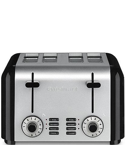 Cuisinart Stainless Steel & Black 4-Slice Toaster