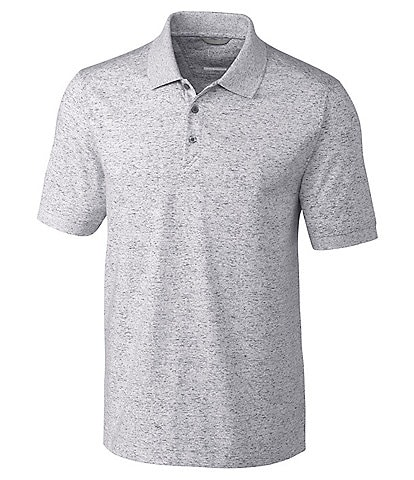 Cutter & Buck Advantage Space Dye Short-Sleeve Polo