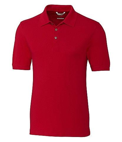 Cutter & Buck Big & Tall Advantage Tri-Blend Pique Performance Stretch Short-Sleeve Polo Shirt