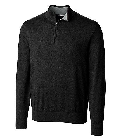 Cutter & Buck Big & Tall Lakemont Quarter-Zip Sweater