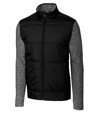 Cutter & Buck Big & Tall Stealth Performance Stretch Full-Zip Jacket