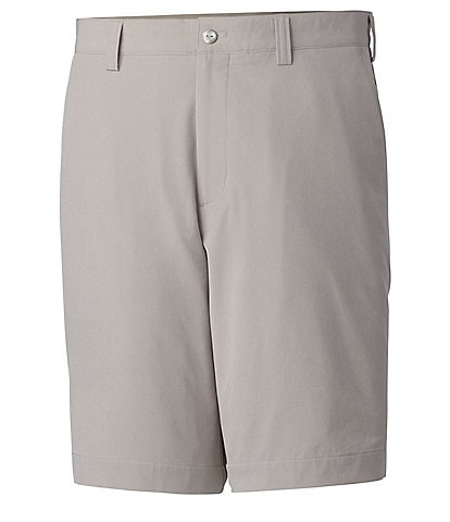 Cutter & Buck Drytec Flat-Front Bainbridge Golf 10#double; Inseam Shorts