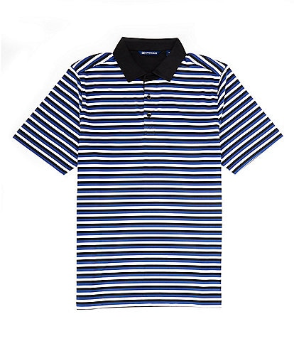 Cutter & Buck Forge Multi Stripe CB DryTec Short-Sleeve Polo