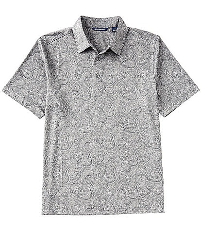 Cutter & Buck Forge Paisley Heather Short-Sleeve Polo