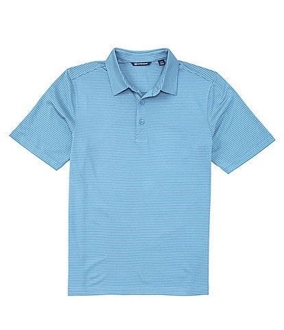 Cutter & Buck Forge Pencil Stripe CB DryTec Short-Sleeve Polo