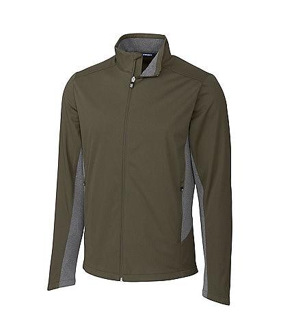 Cutter & Buck Navigate Softshell Long-Sleeve Full-Zip Jacket