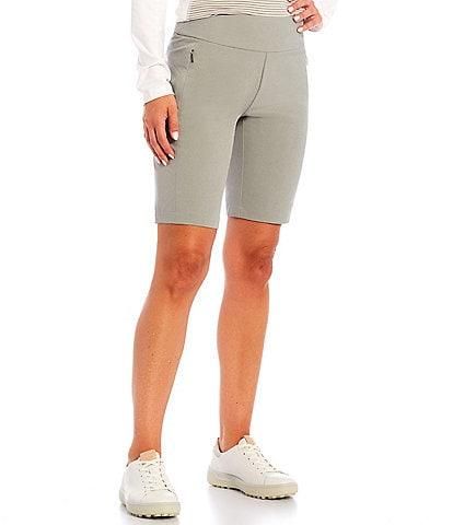 Cutter & Buck Performance Moisture Wicking Pull-On Twill Shorts