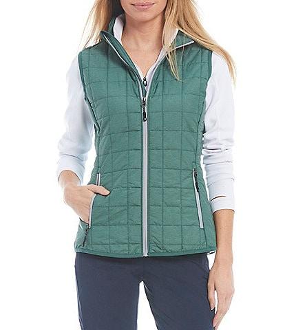 Cutter & Buck Rainier PrimaLoft® Eco Insulated Full Zip Packable Puffer Vest
