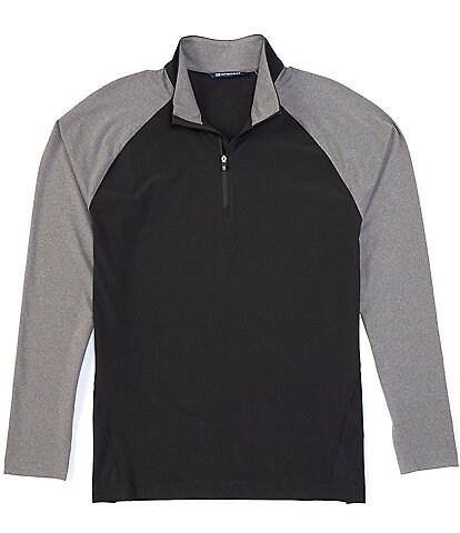 Cutter & Buck Response Hybrid Half-Zip Long-Sleeve Pullover