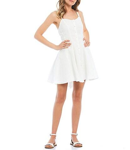 C&V Chelsea & Violet Button Front Dress
