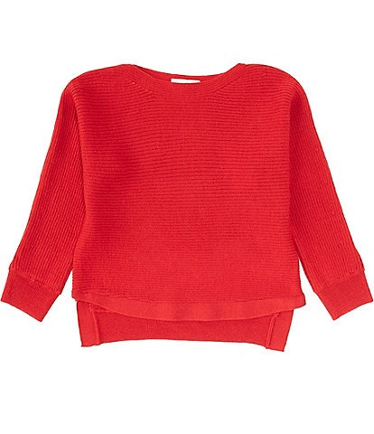 C&V Chelsea & Violet Girls Big Girls 7-16 Dolman-Sleeve Ribbed Sweater