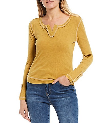 C&V Chelsea & Violet Knit Long Sleeve Top