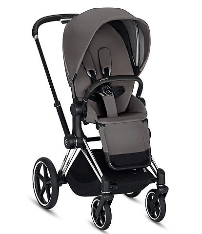 Cybex Chrome/Black Priam 3 Compact Stroller
