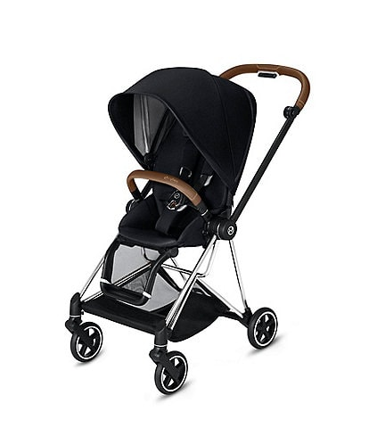 Cybex Chrome/Brown Mios 2 Compact Stroller